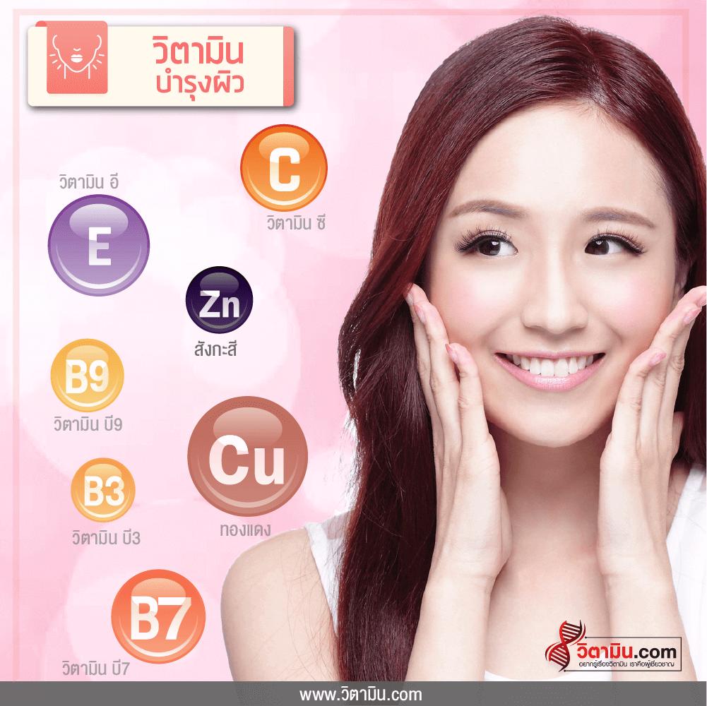 skin vitamin info
